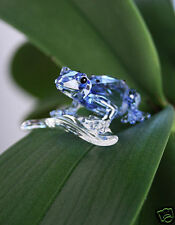 Swarovski Blue Pintail Frog Event piece, Gifkikker 955439  New