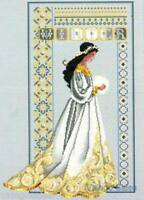 Lavender & Lace Counted Cross Stitch Chart Pattern ~ CELTIC WINTER Sale #60