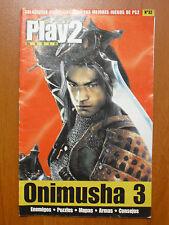 Guía Onimusha 3 (PS2, PStwo, PC) enemigos, puzzles, mapas, armas, consejos