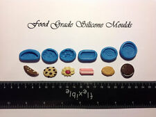 6 MINI BISCUITS Food Grade Silicone Moulds