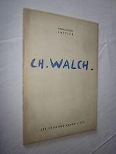 PEINTURE ALSACE: CHARLES WALCH éditions BRAUN