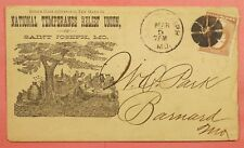 NATIONAL TEMPERANCE RELIEF UNION of St Joseph MISSOURI w # 210 ILLUSTRATED Cover