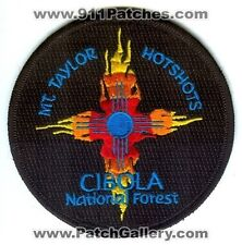 Mount Taylor HotShots Cibola National Forest Fire Wildfire Wildland Patch New Me
