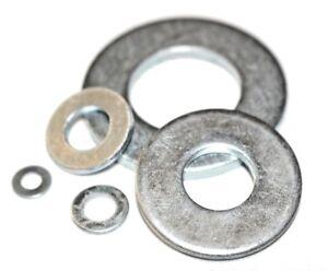 Heavy Duty Form C Flat Washers Zinc Plated BZP M5 M6 M8 M10 M12 M14 M16 M20