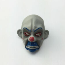 1/6 Figure Bank Robbers Joker Face Clown Heath Ledger Mask Suitable for Head