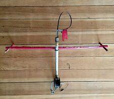 Vintage Ice Fishing Tip-Up Automatic Underwater Burlington Wisconsin Scarce Reel
