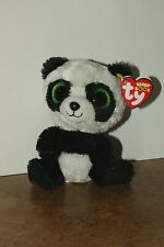 Ty Beanie Boo Panda Bear named Bamboo with Red Tag