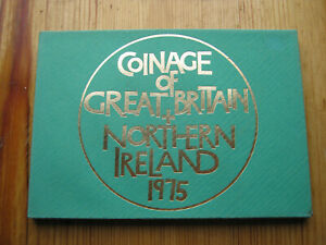 Royal Mint 1975 coinage of Great Britain decimal proof coin set (1)