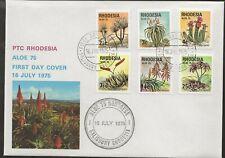 1975 Rhodesia Zimbabwe FDC Aloe 75