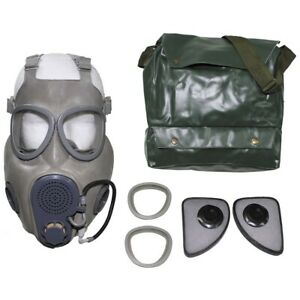 GAS MASK M10M CZECH RESPIRATOR DRINKING TUBE GREY with BAG GAMER COD PREPPER