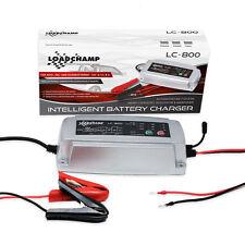 LOADCHAMP Batterie Ladegerät 2 4 8 Ampere 12V AGM GEL CALCIUM Temperaturfühler