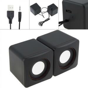 101Z Computer PC Speakers 2.0 USB Powered Desktop Audio Laptop Small Portable