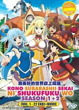 Konosuba/ Kono Subarashii Sekai Ni Shukufuku Wo (Season 1+2 + Movie) English Sub