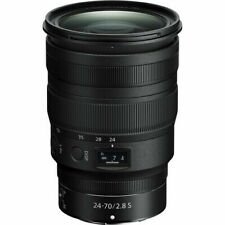 Nikon Nikkor Z 24-70mm F/2.8 Standard Zoom Lens for Nikon Z Mirrorless Cameras