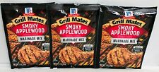 McCormick Grill Mates Smoky Applewood Marinade Mix 1 oz (3 Pack)