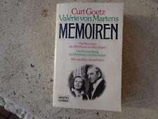 838- Die Memoiren des Peterhans von Binningen - Die Verwandlung . Goetz /Martens
