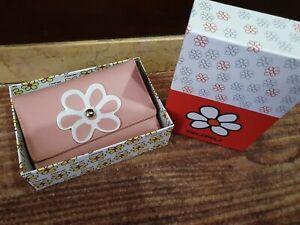Portafoglio donna in ECOPELLE GURU Pink Rosa 15X10X4 W07 - 4