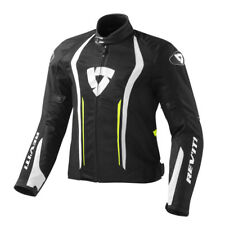 FJT188 REVIT GIACCA AIRFORCE  BLACK-NEON YELLOW TAGLIA XL REV'IT