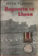 BOOK BAYONETS TO LHASA MILITARY WAR 319 PAGES ILLUSTRATED FIRST EDITION