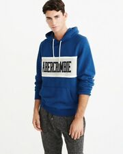 Abercrombie Men's Size Small COLORBLOCK GRAPHIC HOODIE NWT