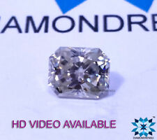 2.23ct Radiant Cut VVS Best Fiery Near White Loose Moissanite For Ring/Pandent