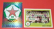 RED STAR 93 SAINT-OUEN D2 COMPLETE PANINI FOOTBALL FOOT 94 1993-1994