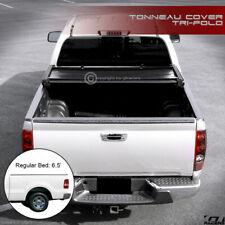 For 2004-2014 F150/2006-2008 Mark LT 6.5' Bed Tri Fold Soft Vinyl Tonneau Cover