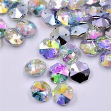 14 mm Cristal AB Cristales Coser Pedrería pointback ab Strass Perlas De Costura