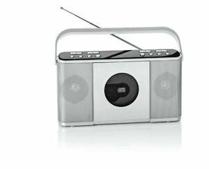 Kofferradio DAB+ Radio Digitalradio UKW-Radio Netzbetrieb mit CD-Player Stereo