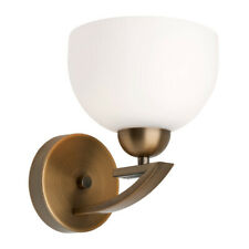 NEW Mercator Hepburn Aged Brass 1 Light Metal Wall Lamp