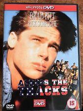 Brad Pitt Ricky Schroder ACROSS THE TRACKS ~ 1989 Drama GB DVD