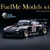 Fuelme Models 1:64 Porsche RWB 911 (993) Kaihime #00 Interscope Racing - Resin