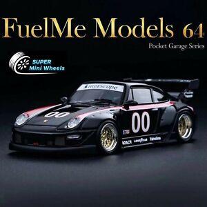Fuelme Models 1:64 Porsche RWB 911 (993) Kaihime #00 Interscope Racing - Resin