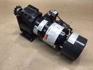 Dayton 35:1  Gearmotor 4Z520B 1 PH 1/15 HP With 5X400A Magnetic Brake #71D22PR5