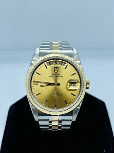 Rolex Tudor Prince Day Date 18k Automatic Men's Watch