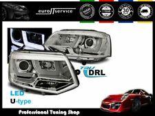 HEADLIGHTS LPVWL1 VW TRANSPORTER T5 2010 2011 2012 2013 2014 2015 CHROME RHT