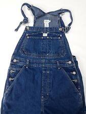 VTG Calvin Klein CK Dark Wash Denim Jean Coverall Overall Bib Jeans (Med.) EUC.