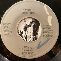 "fuzz psych crossover soul funk 7"" LIGHTNING Rain ♫ Mp3 Saturn Records 1977"