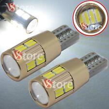 4 Lampade T10 LED HID Canbus 20 SMD 4014 BIANCO Lampadine Xenon 6000 Posizione