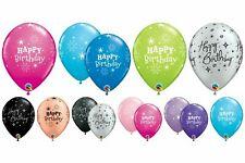 Qualatex 6 Happy Birthday 27.9cm Elio / Aria Palloncini Festa Decorazione