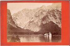 CDV photo Historische Ansicht / Landschaft - Berchtesgaden um 1880