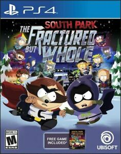South Park The Fractured but Whole - Playstation 4 (PS4) - Brand New - Sealed
