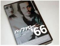 Vincent Gallo BUFFALO '66 japanese horror movie VHS japan