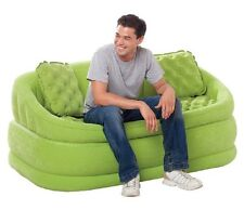 Intex Cafe Love Seat grün Sessel Sofa Couch aufblasbar Matratze Aufblasmöbel