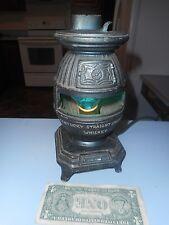Vintage Fleischmann Distilling Corp Cast Aluminum Advertising Stove (Pot Belly)