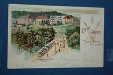 DREI AHREN - TROIS EPIS b. Türckheim i/E - Bergbahn - au verso cachet de 1902