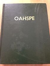 OAHSPE - A New Bible in the Words of Jehovih 1882 Edition Special Reprint 1960 +