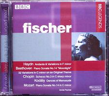 Annie FISCHER: Haydn Beethoven Chopin Kodaly Mozart BBC Legends CD Klaviersonate