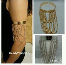 Armlet Upper Bracelet Cuff Bangle Armband Chain Gold Silver Harness Tassels Boho