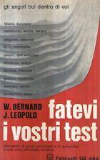 Mu35 Fatevi i vostri test Bernard Leopold Feltrinelli 1969